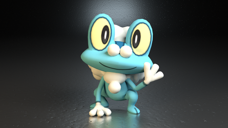 #656. Froakie by TheAdorableOshawott