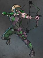 Artemis - Young Justice by AnthonyParenti