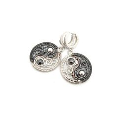 YIN-YANG - earrings by artpoppy