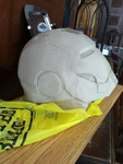 iron man clay WIP 2 by newdeal666