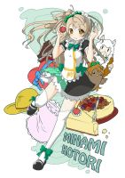 Love Live! Artbook - Minami Kotori by howeirong