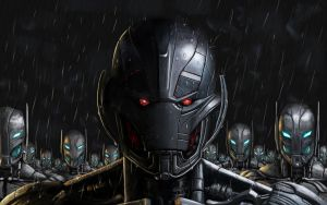 Ultron with friends by WinterMute-MtH