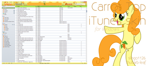 Carrot Top iTunes Skin by slingo1126