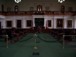 Texas State Senate Hall by Trivas