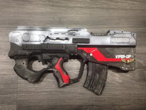 Viper-13P. Bullpup rapidstrike project by Xiled878