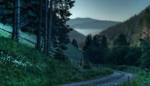 Way to the Misty Mountains by Toghar