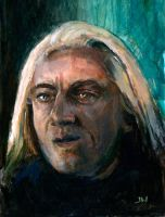 Lucius Malfoy Sketch Card by Stungeon