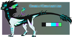 Cydroid - Cosmic|Constantine Temp Ref by PurrfectlyKind