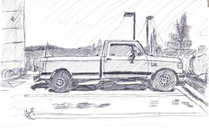 Will's truck by Dragonkitty13