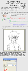 How to Color in GIMP Pt.1 by sasukechan111