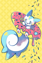 Sugary Sweet Squirrel by crayon-chewer