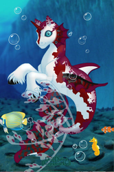 merpony Red n White by lunatwo