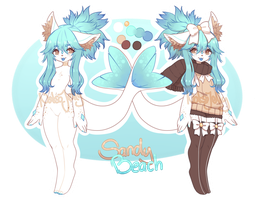 Sia Adopt - Sandy Beach (Closed) by NotsoJelly