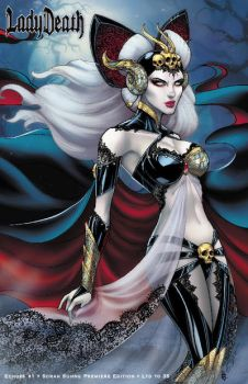 Lady Death Haute Couture Apocalyptic Abyss Colors by sorah-suhng