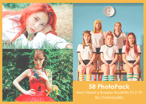58 / Red Velvet x Russian Roulette Pt.2 PhotoPack by ChanHyukRu