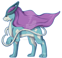 Suicune by Fireprinces20