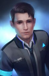 Detroit become human _ Connor _ RK800 by Zetsuai89