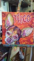 Chihuahua commission by jupiterjenny