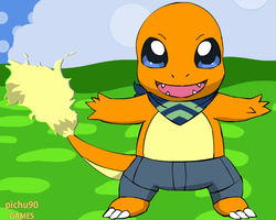 JAKE THE CHARMANDER by Romulus907