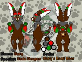 soda dragon reference sheet commission by PickleMittens