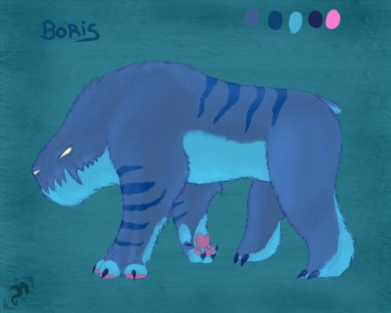Boris by RafaBolas