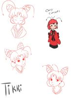 Miraculous Inu - Inuyasha Au : Tikki Hair Revised by SilverSky931