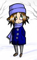 Me and my blue coat by NightWatcher36