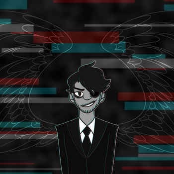 Darkiplier by BIueTay