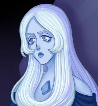 SU: Blue Diamond by lonelysparrrow