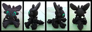 Toothless by ColourdyCrochetHooks