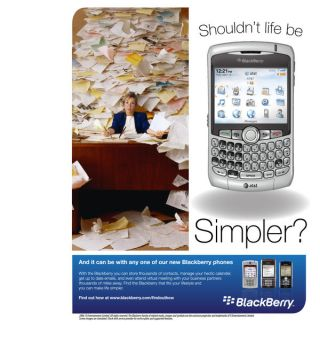 Blackberry Ad Redesign by xsharezx