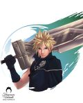 Final Fantasy VII: Cloud Strife by nime080