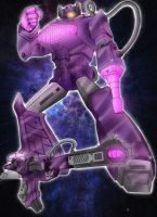 Shockwave (Robot and gun) by J-Rayner