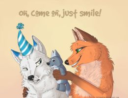 Just smile by LelianaFox