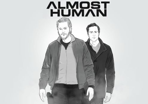 Almost Human - Det. Andy Lothar and KDR19 by Telisan