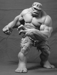 The Incredible Hulk by MonsterPappa