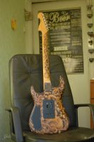 Relic guitar by Gatc