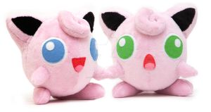 Handmade custom jigglypuff pokemon by SugarcubeCherry
