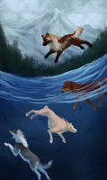 Pack of Fishers 1/2 by SolinaBright