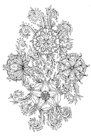 ScanImage096Floral Doodle by WelshPixie