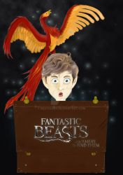 Poster - Fantastic Beasts And Where To Find Them by RedTigger