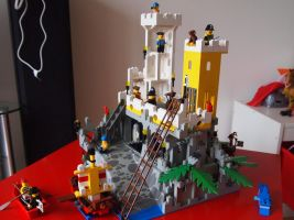 Lego pirate island 3 by BevisMusson