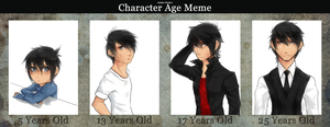 AGE MEME by Pharos-Chan