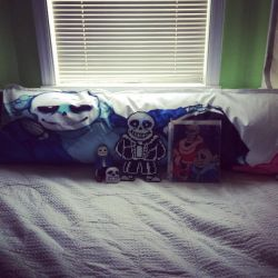My Sans collection so far by Mitzy-Chan