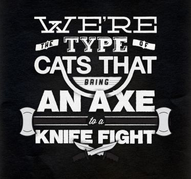 Axe to a Knife Fight by CornLord