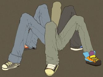 Jeans and Sneakers by edelias