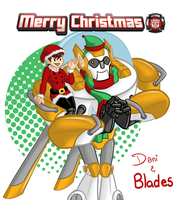A Rescue Bots Christmas by lizwuzthere