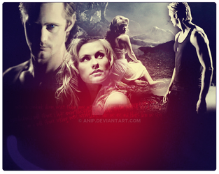 eric and sookie header by AniP