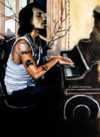 Johnny Depp - Piano by ScenicSarah
