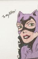 Catwoman sketch by mozzkitty